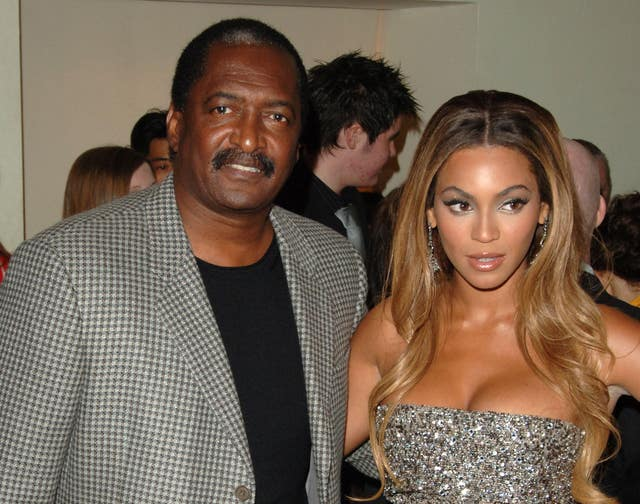 Beyonce and father Matthew Knowles