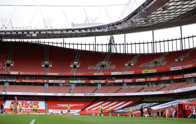 Arsenal v Norwich City – Premier League – Emirates Stadium