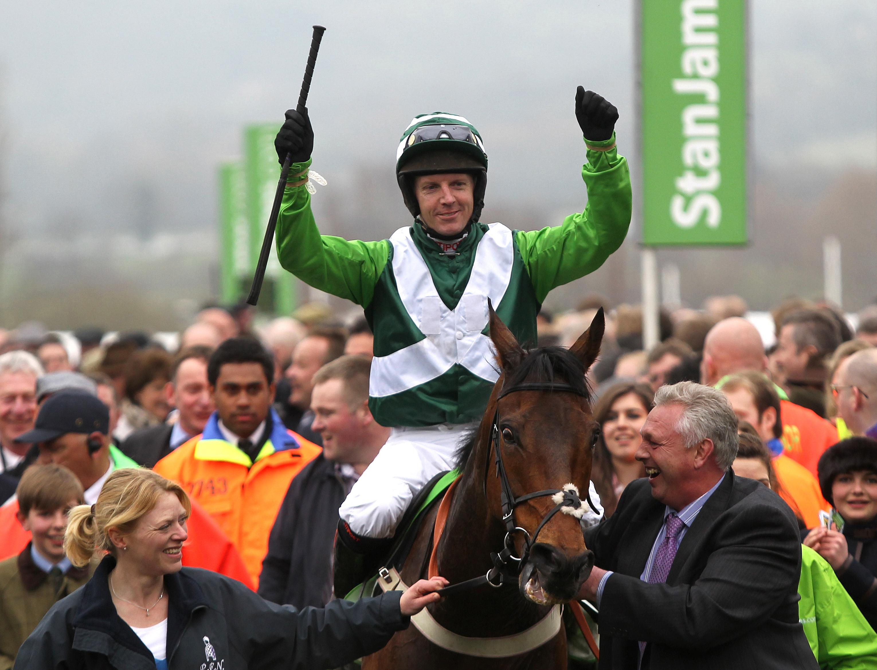 Noel Fehily won his first Champion Hurdle on Rock On Ruby