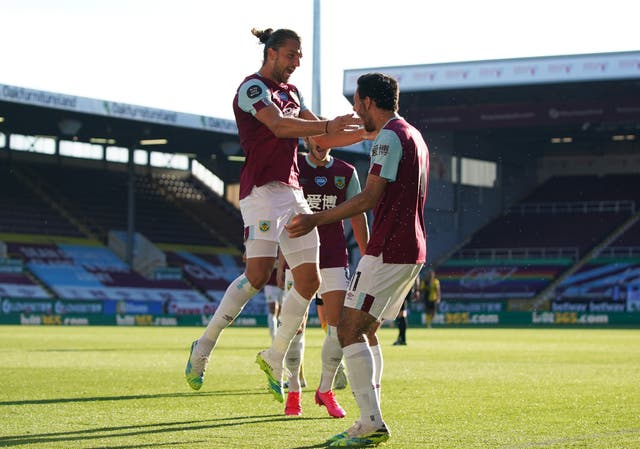 Jay Rodriguez (left) scored the winner as Burnley beat Watford on Thursday