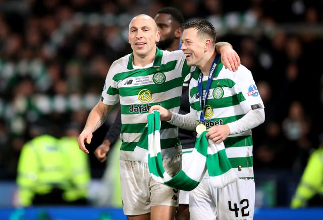 Callum McGregor has talked up Scott Brown's qualities