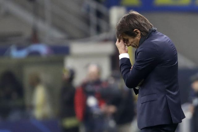 Antonio Conte's side were knocked out