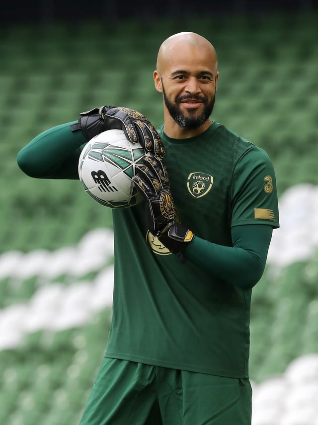 Goalkeeper Darren Randolph is the only member of the Ireland squad who was born the last time they beat England