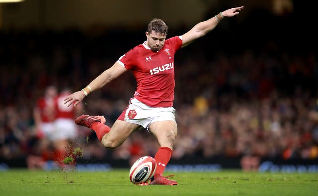 Leigh Halfpenny is one of three players who started in Wales' last win in Dublin eight years ago