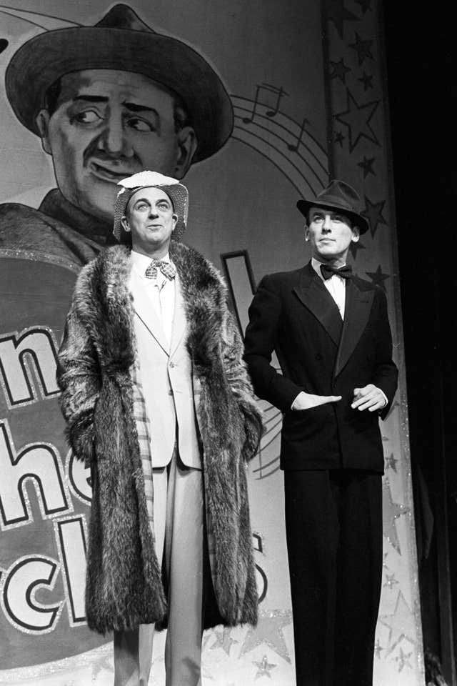 Underneath the Arches - Roy Hudd and Christopher Timothy - Prince of Wales Theatre, London