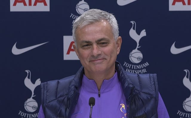 New Tottenham boss Jose Mourinho previously said he would not manage Spurs