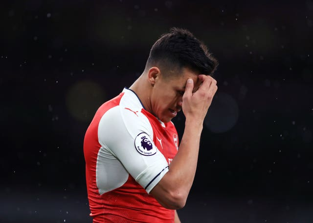 Sanchez's form dipped in his final months at Arsenal