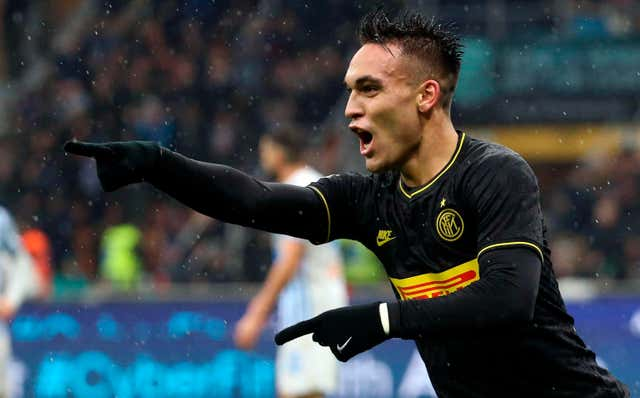 Lautaro Martinez helped Inter Milan make history