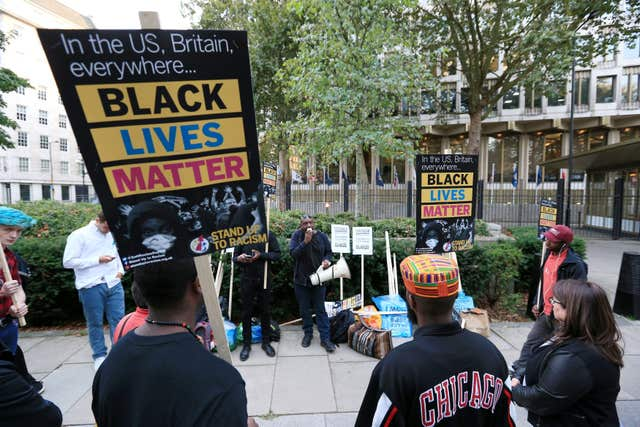Stand up to Racism protest – London