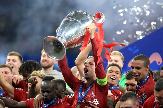 Liverpool won their sixth European Cup in June