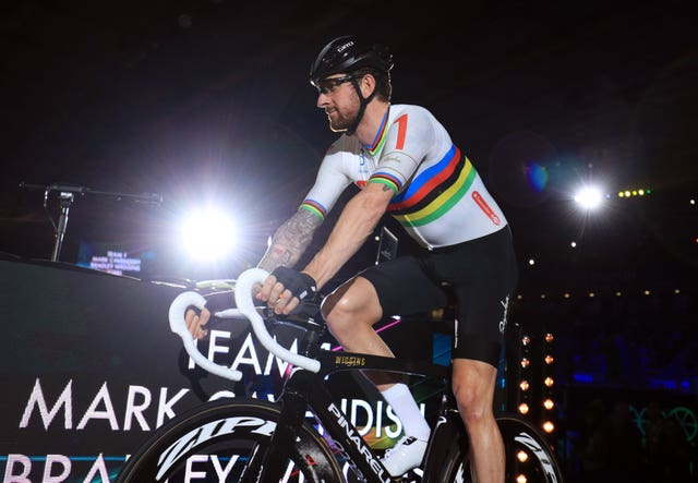 Great Britain's Sir Bradley Wiggins attempted t set a record along the road (Adam Davy/PA)