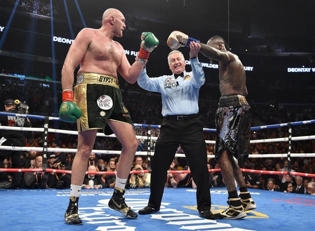 Deontay Wilder and Tyson Fury shared the ring for a thriller