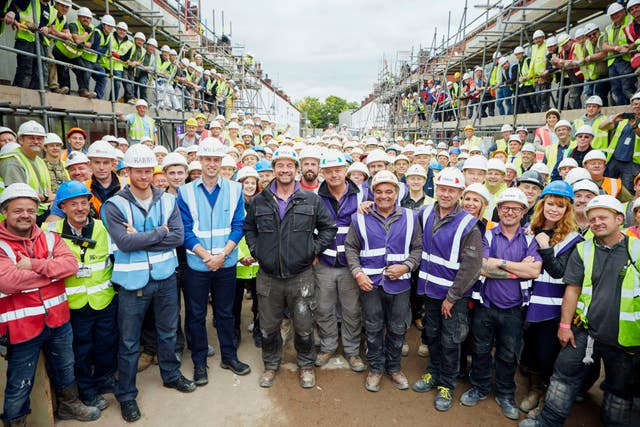 DIY SOS royal visit