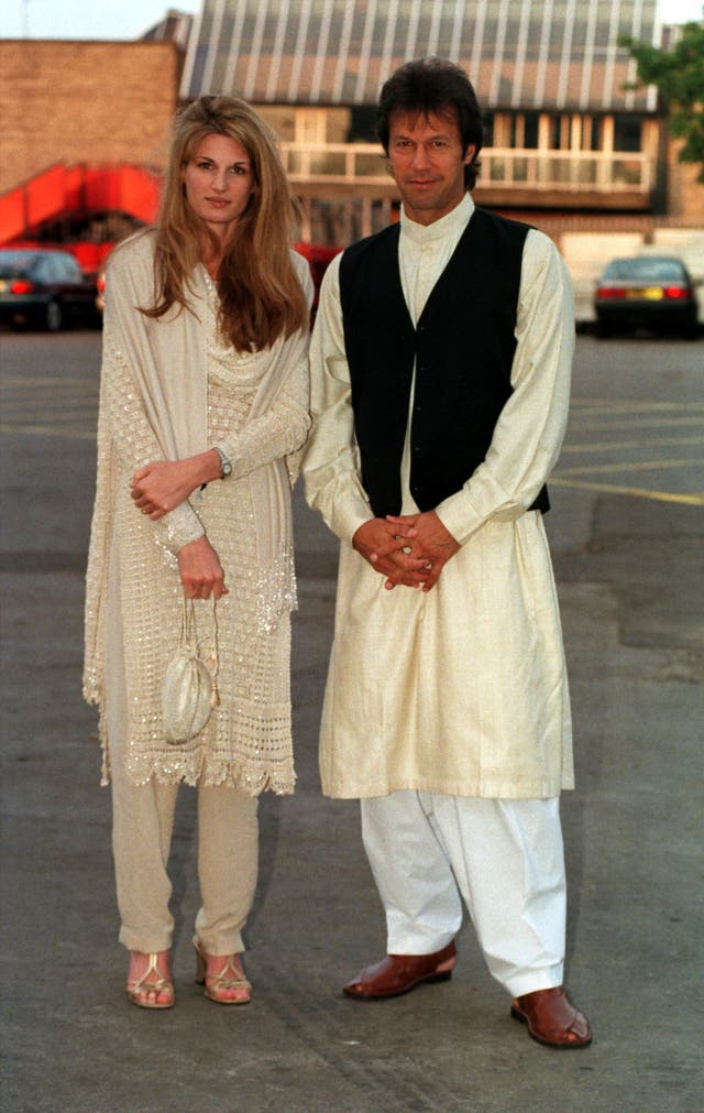 Jemima and Imran Khan