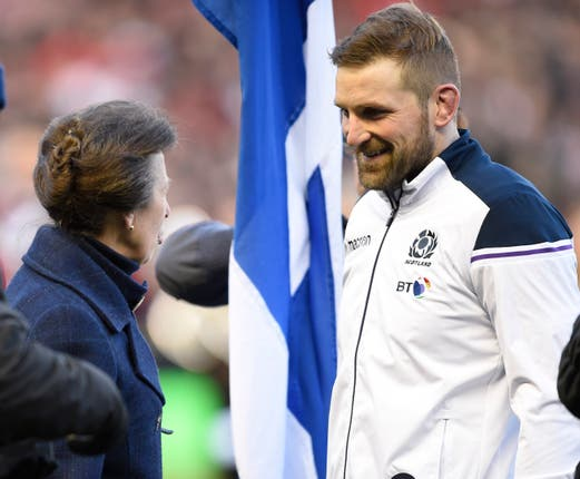 John Barclay is a former Scotland captain