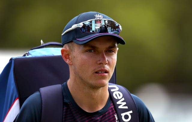 Sam Curran is in contention for the second Test