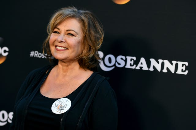 Roseanne Barr has been heavily criticised over a tweet which referred to former Barack Obama adviser Valerie Jarrett as a product of the Muslim Brotherhood and the Planet Of The Apes (Jordan Strauss/Invision/AP)