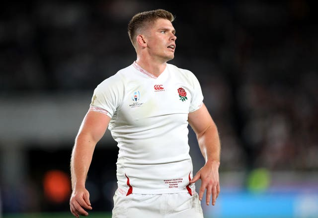 Owen Farrell was left to rue England's slow start