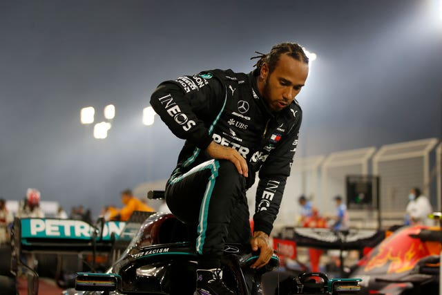 Lewis Hamilton is 'in bed' and 'not feeling great' as he recovers from coronavirus