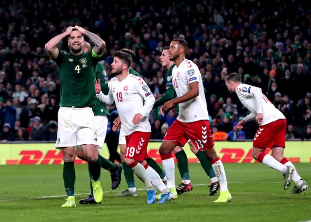 Shane Duffy's side could not make the most of their chances