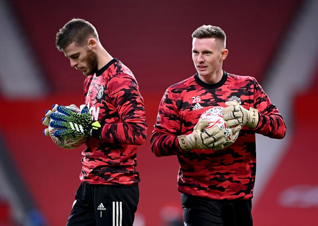 David De Gea and Dean Henderson are competing for the number one spot
