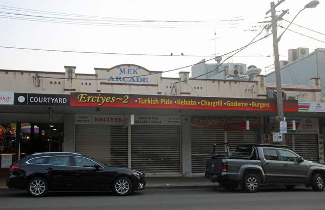 Erciyes kebab shop in Coogee