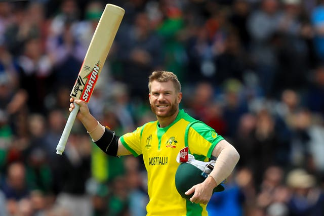 David Warner might be expecting some stick from England fans