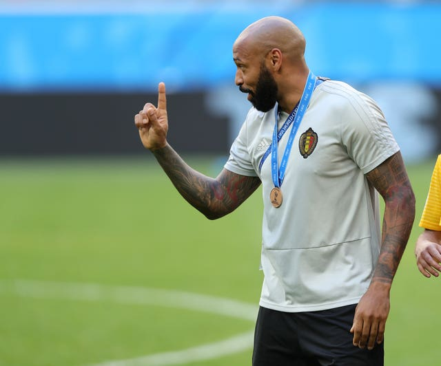 Henry worked with Belgium as they reached the World Cup semi-finals.