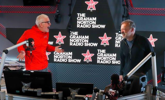 Graham Norton on Virgin Radio