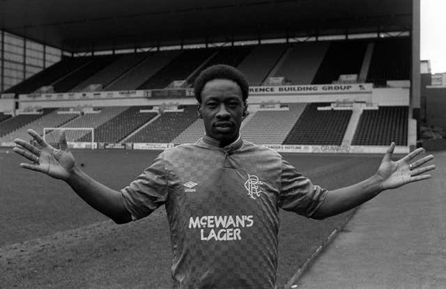 Mark Walters won three league titles in four season with Rangers