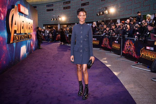 Black Panter's Letitia Wright is among the stars in the latest Marvel film