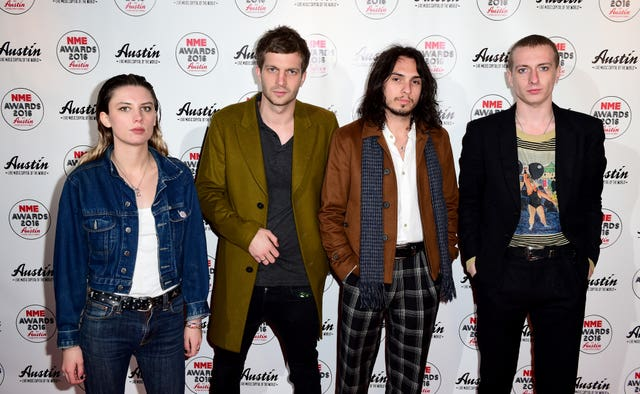 NME Awards 2016 with Austin Texas – London