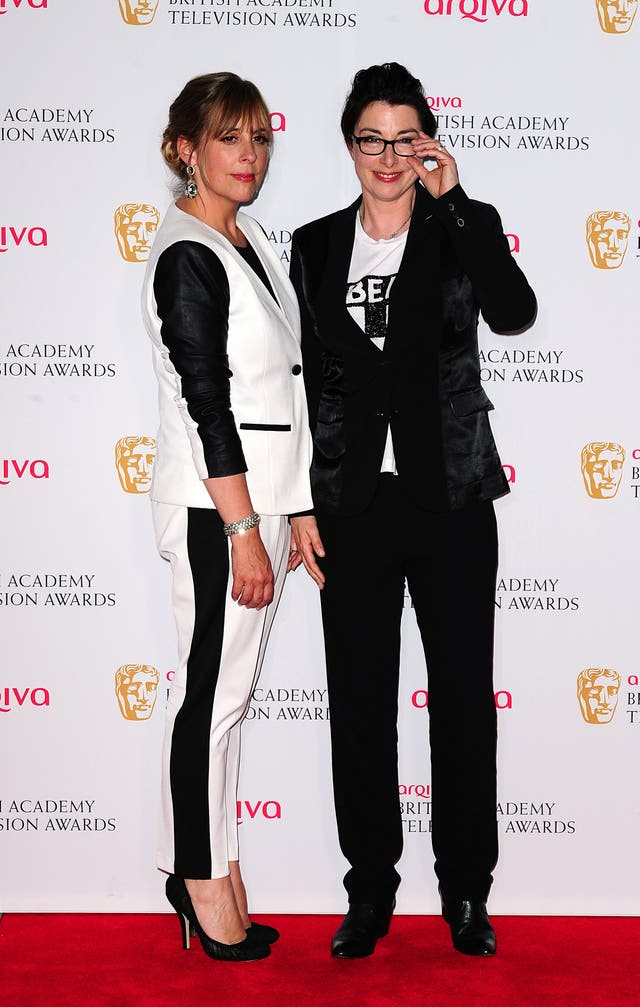 Mel Giedroyc (left) and Sue Perkins quit The Great British Bake Off when it moved to Channel 4