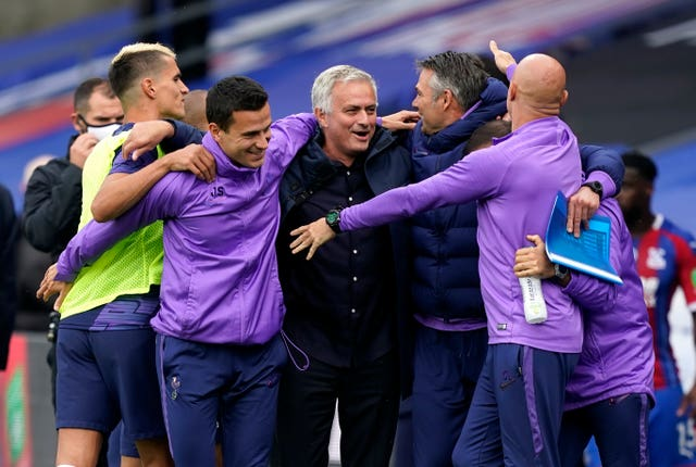 Jose Mourinho guided Tottenham to a sixth-place finish in the Premier League.