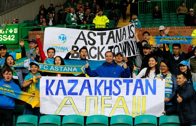 Celtic have faced Astana twice in the Champions League