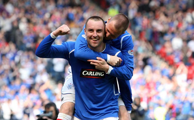 Kris Boyd enjoyed his best season at Ibrox in 2008/09