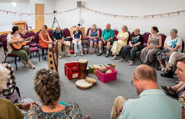 Music therapy to help dementia