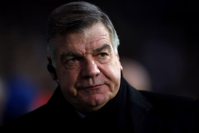 Sam Allardyce is to become an LMA ambassador to the SCORES research project (Nick Potts/PA).