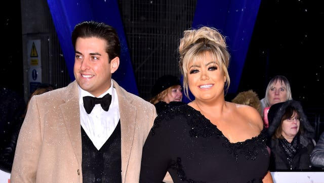 James Argent and Gemma Collins