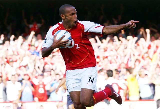 Thierry Henry scored 175 Premier League goals