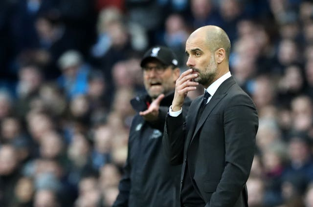 Pep Guardiola, right, will be looking to improve on last year's quarter-finals effort, where they were beaten by Liverpool