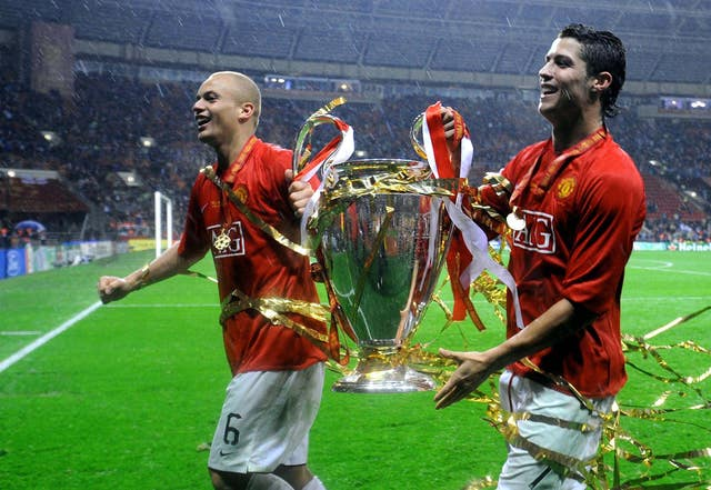 Wes Brown won two Champions Leagues with Manchester United