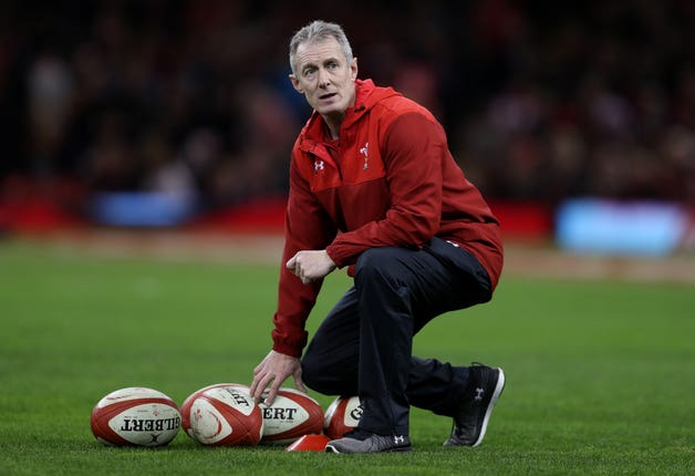 Rob Howley has returned home from the World Cup