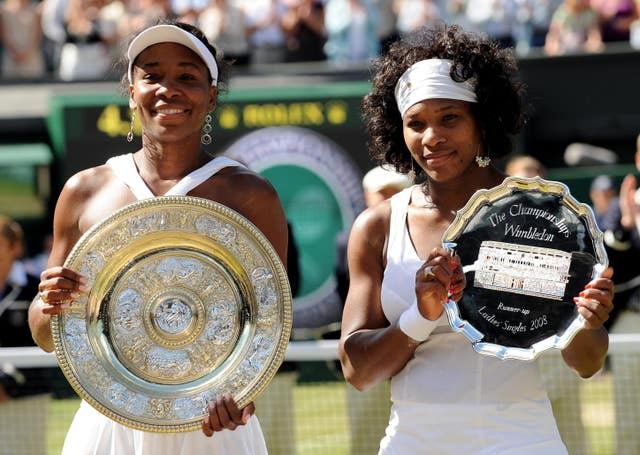 Venus Williams got the better of her sister in 2008