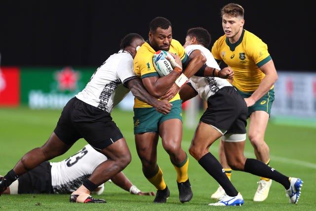 England will hope to contain Samu Kerevi