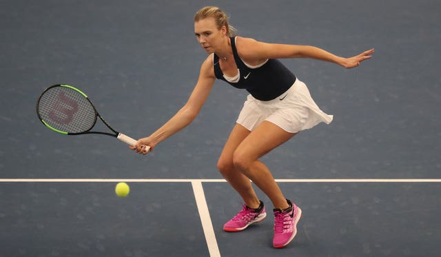 Katie Boulter was playing her first Fed Cup singles match