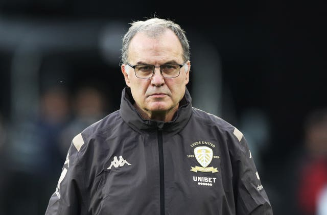Leeds manager Marcelo Bielsa believes the partial return of fans will distort the competition