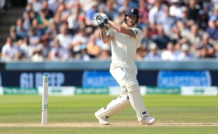 Stokes enjoyed an explosive afternoon with the bat