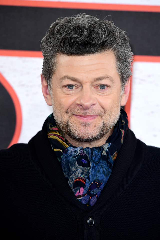 Actor and director Andy Serkis