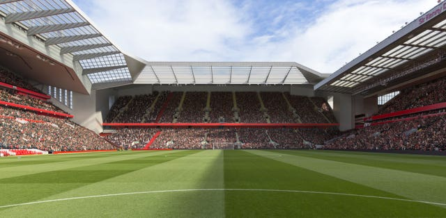 Anfield Redevelopment Handout Photo